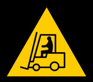 Gabelstapler, schwere Lasten